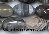 CAA5891 15 inches 8*12mm oval botswana agate gemstone beads