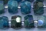 CAP749 15 inches 5*8mm-7*9mm faceted nuggets apatite beads