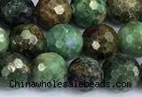 CCB1281 15 inches 8mm faceted round gemstone beads