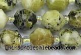 CCB1435 15 inches 7mm - 8mm faceted gemstone beads