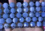 CCB853 15.5 inches 11*12mm faceted aquamarine beads wholesale