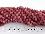 CEQ341 15 inches 8mm round sponge quartz gemstone beads