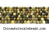 CHJ101 15 inches 6mm round honeybee jasper beads