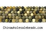 CHJ102 15 inches 8mm round honeybee jasper beads