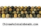 CHJ104 15 inches 12mm round honeybee jasper beads