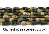 CHJ110 15 inches 8*20mm teardrop honeybee jasper beads