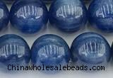 CKC795 15 inches 10mm round blue kyanite beads wholesale