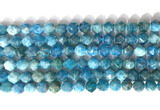 CNG9083 15.5 inches 8mm faceted nuggets apatite gemstone beads