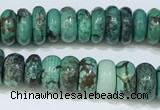 CNT501 15.5 inches 4*8mm - 6*12mm nuggets turquoise gemstone beads