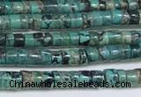 CNT522 15.5 inches 3mm - 3.5mm heishi turquoise gemstone beads