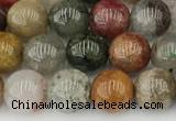 CPC671 15.5 inches 8mm round phantom quartz gemstone beads