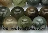 CPC692 15 inches 10mm round phantom quartz beads